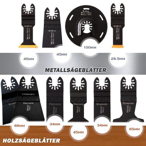 metallsägeblätter holzsägeblätter multitool werkzeug